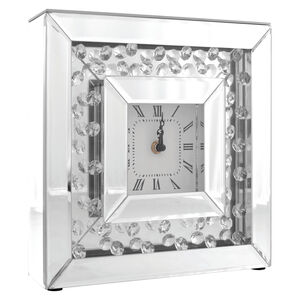 Cashel Living Teardrop Diamond Clock