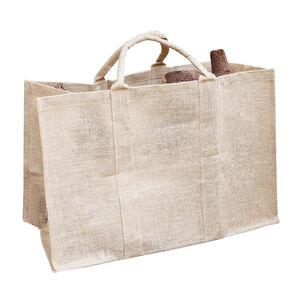 Silverframe Jute Log Bag