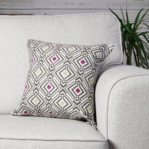 Sarmates Berry/Green Cushion 45cm x 45cm