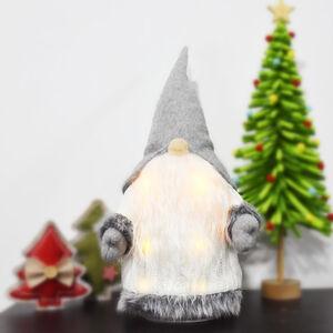 Lightup Santa Gnome