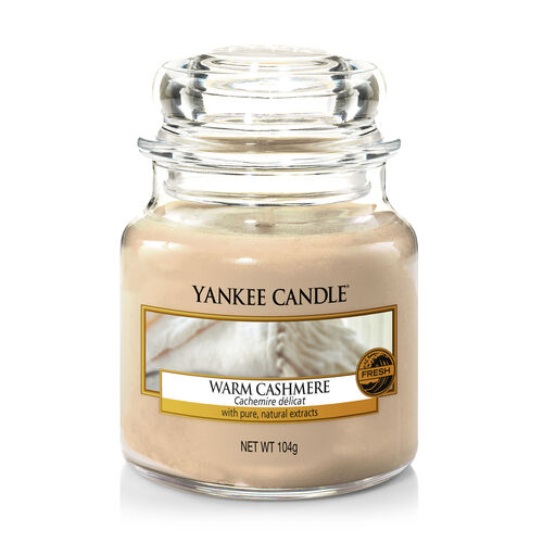Yankee Candle Warm Cashmere Small Jar