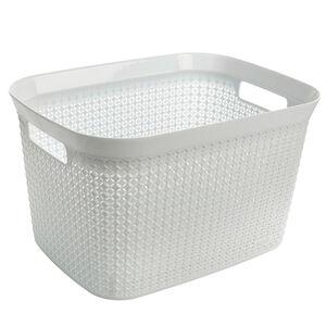 Ezy Mode 25L Open Basket Lily Cream