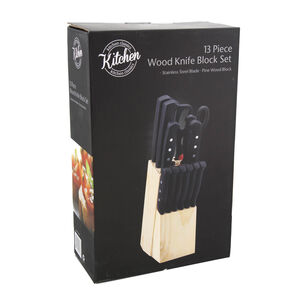 Kitchen Classic 13 Piece Knife Block Set
