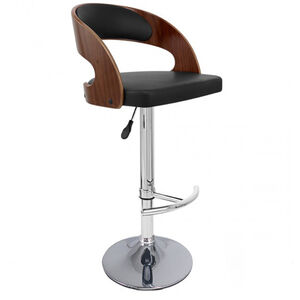 Veneto Black Bar Stool