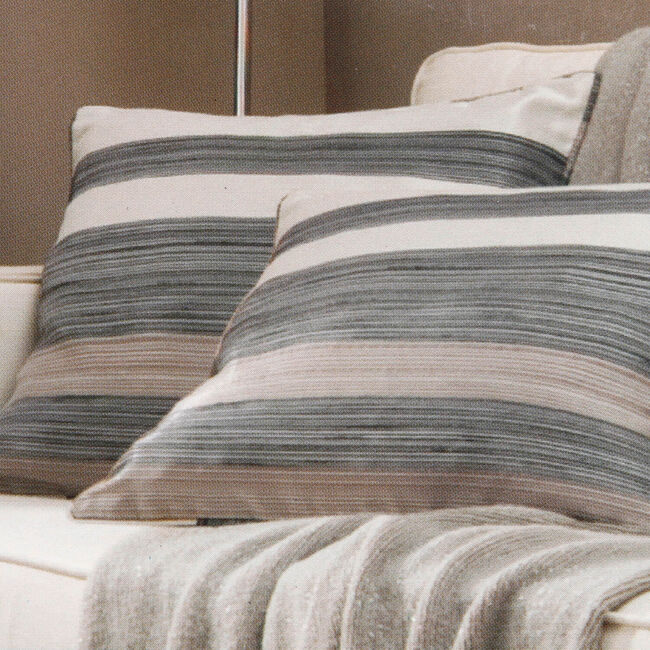 Soho Stripe Cushion Cover 45x45xm 2 Pack