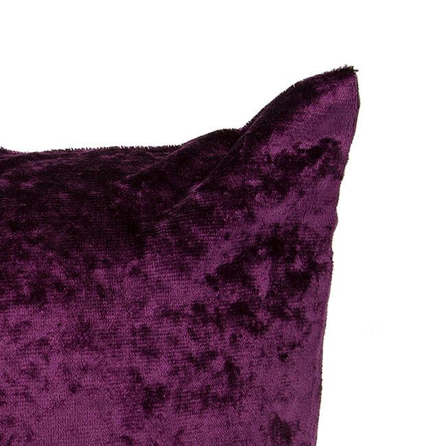 Velvet Crush Cushion Cover 2 Pack 45x45cm - Purple