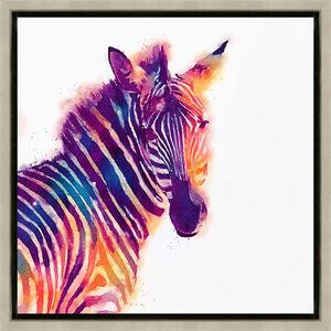Zebra Riot 37cm x 37cm