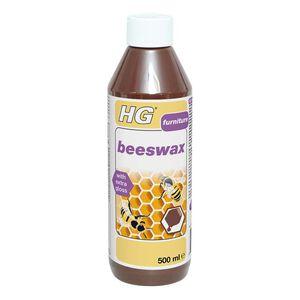 HG Brown Beeswax Polish 500ml