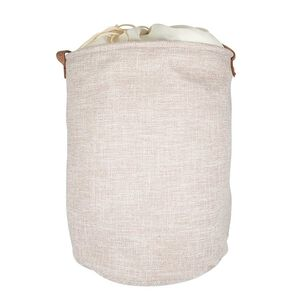 Northern Shore Fabric Laundry Hamper - Beige