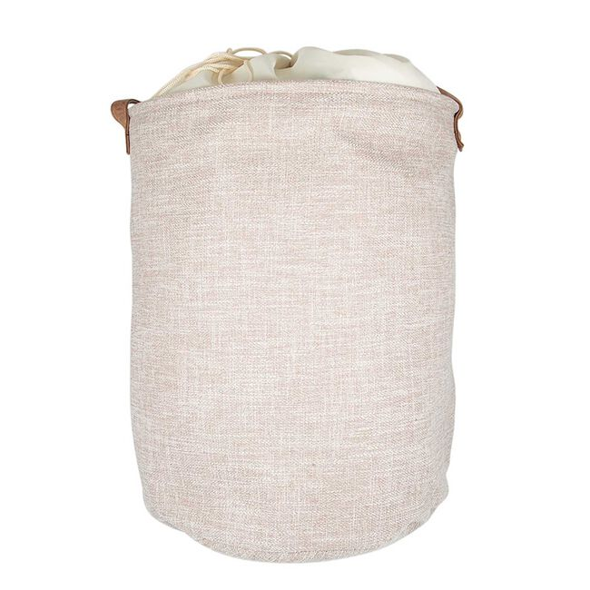 Northern Shore Fabric Laundry Hamper - Beige