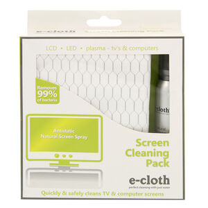 E-Cloths Screen Cleaning Pack