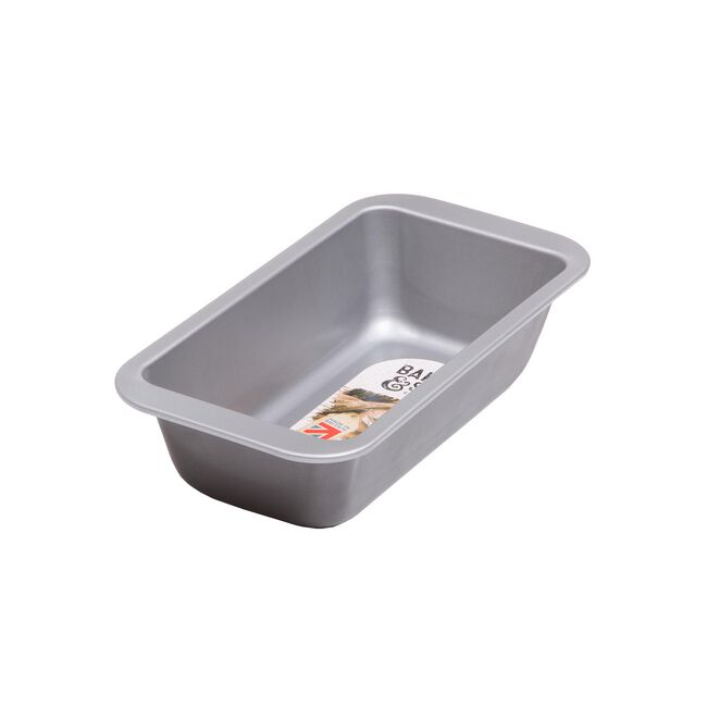 Baker & Salt Silver Loaf Tin 2LB