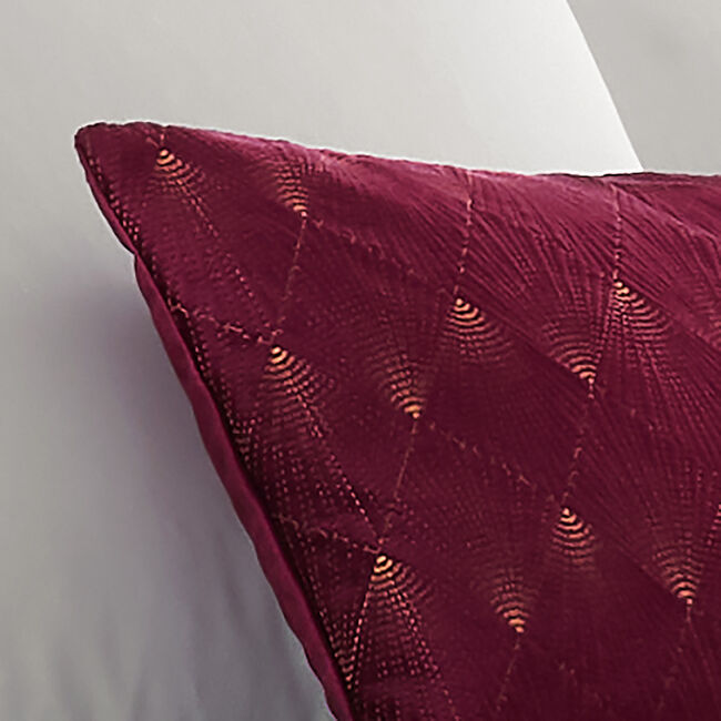 Harlow Cushion 30x50cm - Berry