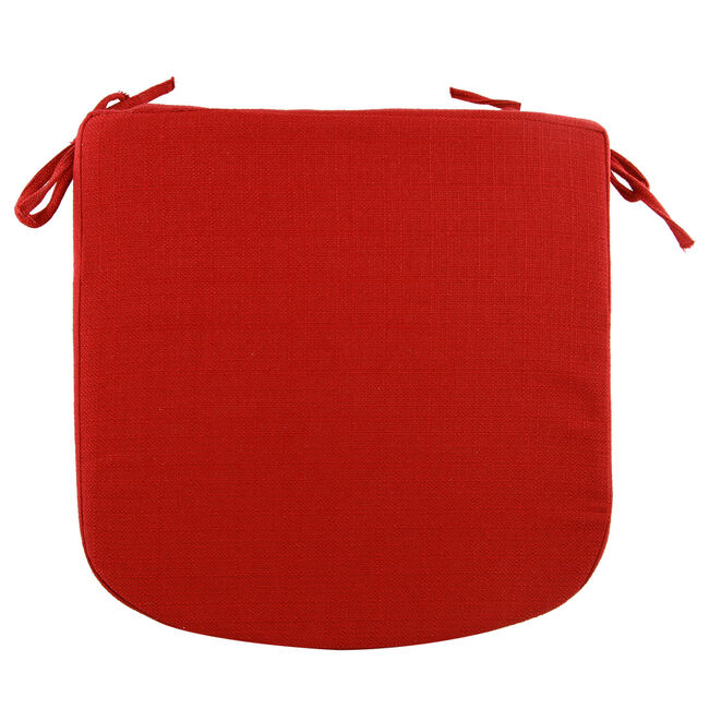 Woven Kitchen Seat Pad - Red
