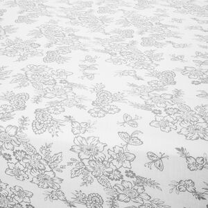 MILLIE GREY Double Fitted Sheet