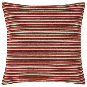 Harry Stripe Rust 45x45 Cushion