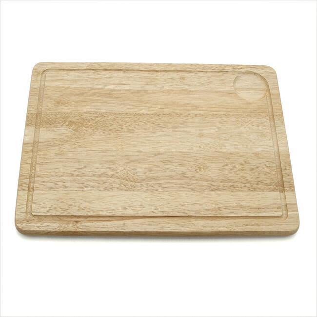 Rubberwood Meat Board 40x30cm