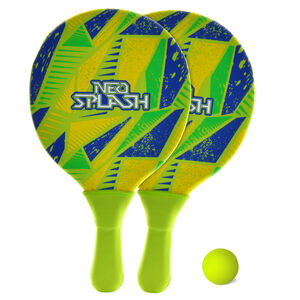 Neoprene Paddle and Ball Set