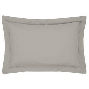 Luxury Percale Oxford Pillowcase Pair - Grey