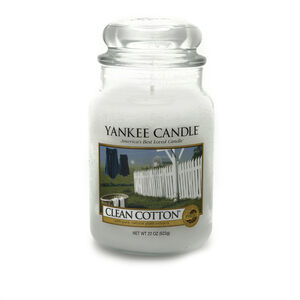 Yankee Candle Clean Cotton Large Jar
