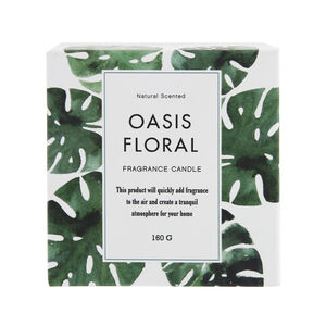 Oasis Floral Scented Candle