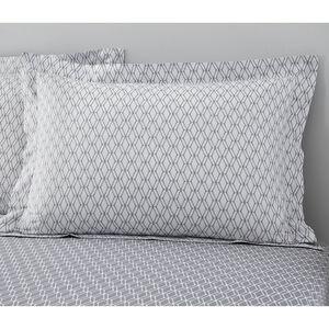 Cody Oxford Pillowcase Pair - Grey