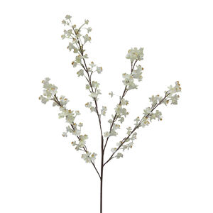 Prunus Branch with 156 Flowers 89cm