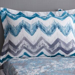 Hannah Oxford Pillowcase Pair - Teal