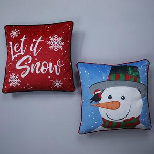 Snow Love Cushion Cover 2 Pack 45x45cm
