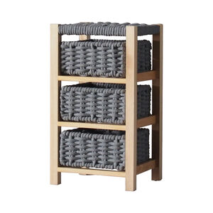 Classic Knit 3 Drawer Unit - Grey