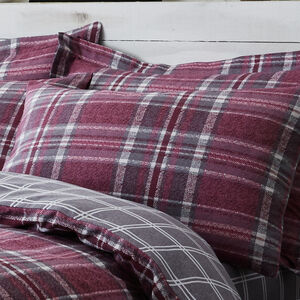 Brushed Cotton McGill Check Oxford Pillowcases 2Pk