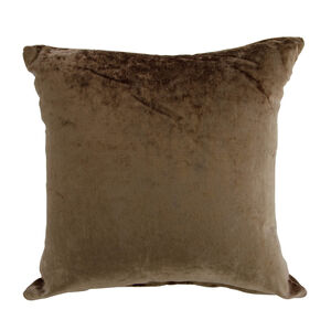 Velvet Crush Cushion Cover 2 Pack 45x45cm - Gold