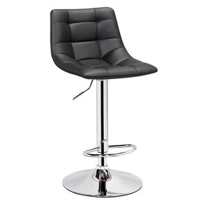 Kafka Black Bar Stool