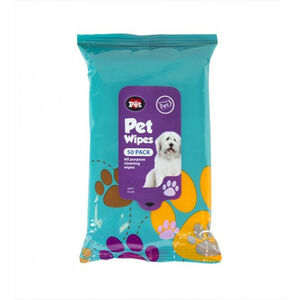 Pet Wipes 50 Pack