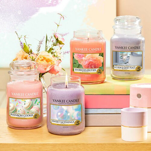 Yankee Candle Sun-Drenched Apricot Rose Large Jar