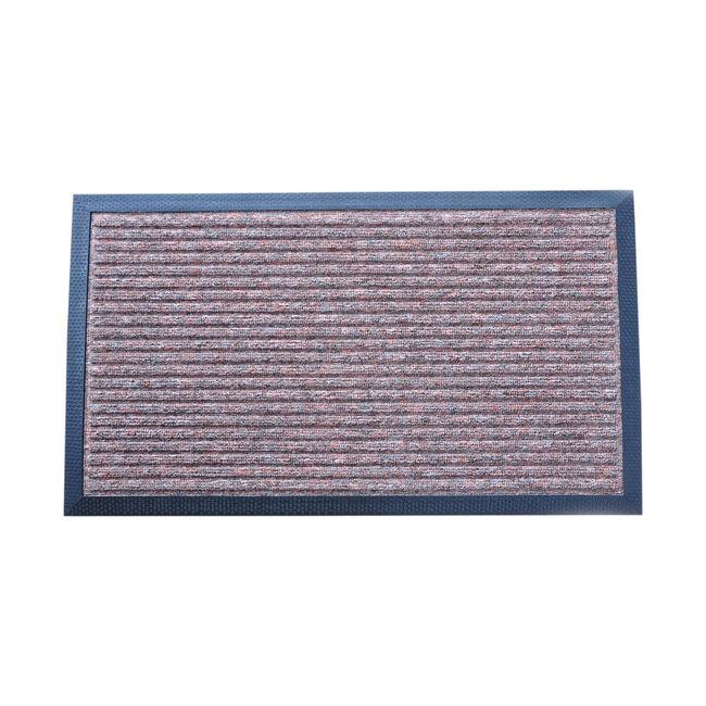 Esteem Stripe Doormat 40x70cm - Brown