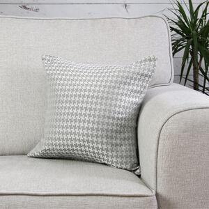 Ruth Geo Grey Cushion 45cm x 45cm