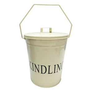 Silverflame Cream Kindling Bucket