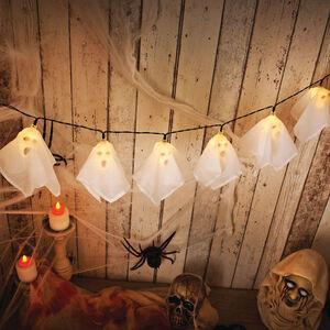 Halloween 10 Ghost String Lights