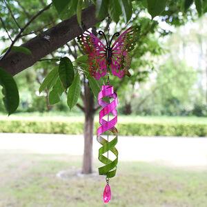Garden Butterfly Wind Spinner