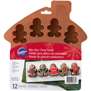 Wilton 12 Cavity Gingerbread Silicone Mould