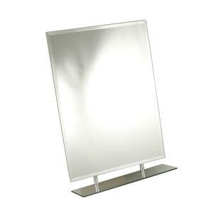 Tema Rect Bevelled 1 Shelf Mirror