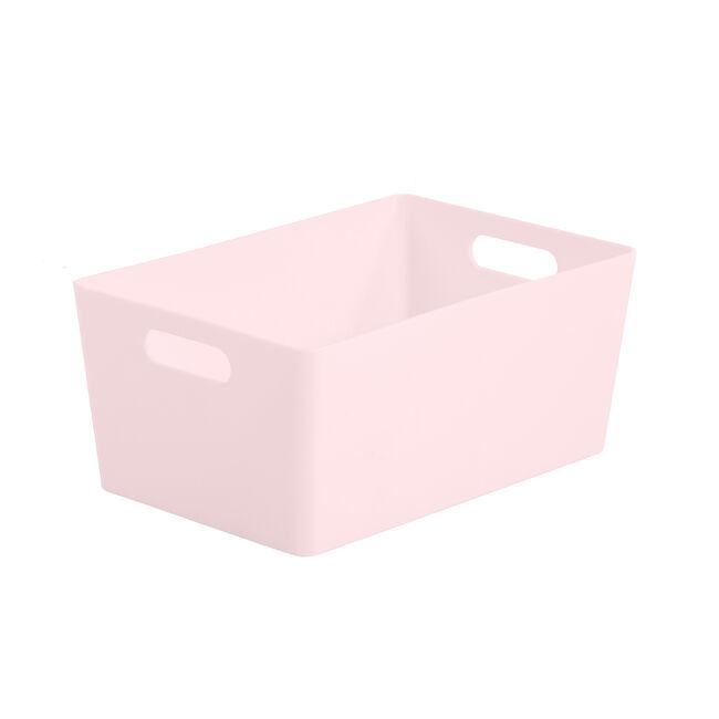 Studio Rectangular Basket 3.9L - Pink