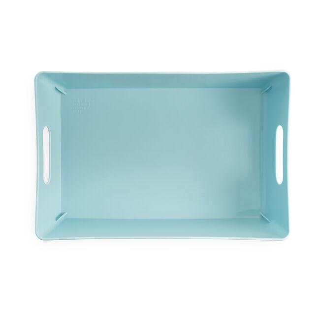 Studio Rectangular Basket 2L - Duck Egg Blue