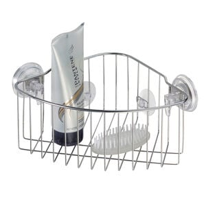 Reo Corner Basket Stainless Steel