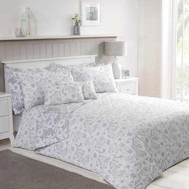 Floral Sketch Bedspread 200x220cm