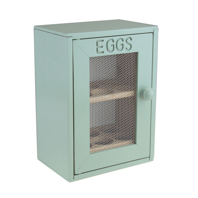 Apollo Rubberwood Mint Egg Cabinet