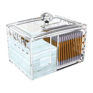 Cosmetic Diamond Cotton Storage Unit