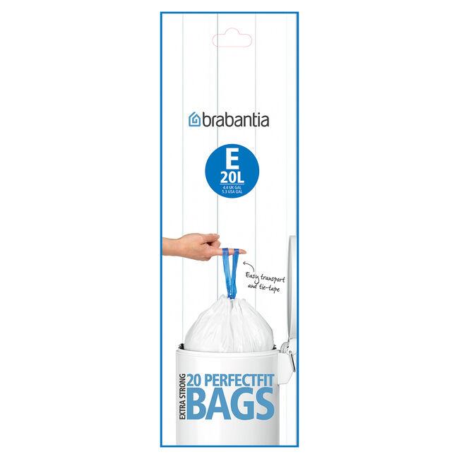 Brabantia 20L Bin Liners 20 Pack
