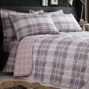 Brushed Cotton Bartragh Bedspread 200cm x 220cm